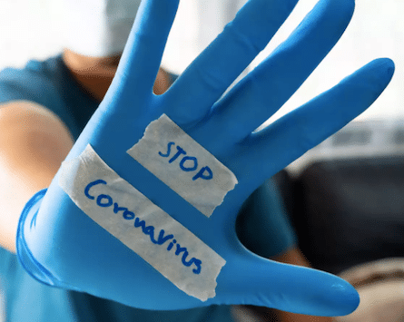 kill coronavirus with surface spray
